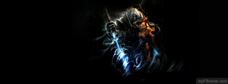 World of Warcraft-Arthas Facebook Cover