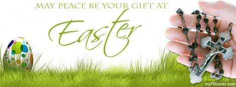 Easter Day Prayer Facebook Cover