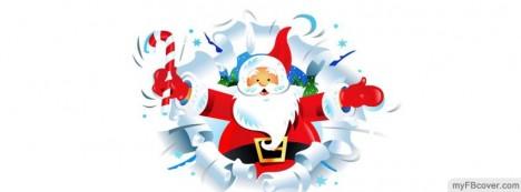 Santa Facebook Cover