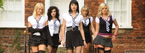 School Girls Facebook Cover