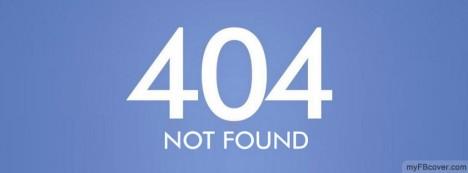 404 Facebook Cover
