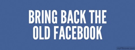 Bring old Facebook Facebook Cover