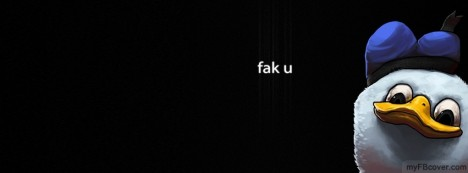 fak u Facebook Cover