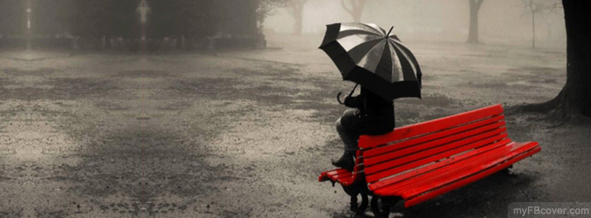 Alone in park Facebook Cover | Timeline Cover | FB Cover