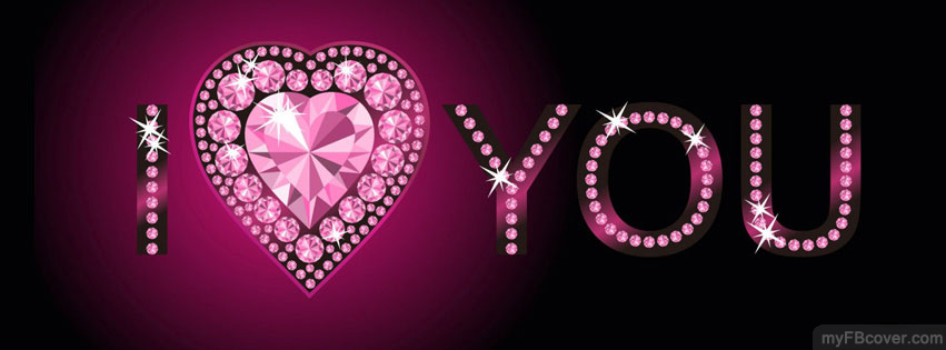 I Love U Wallpaper For Fb : I love u Facebook cover Timeline cover FB cover