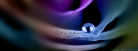 Love Profusion Facebook Cover