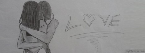 Love Sketch Facebook Cover