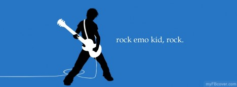 Rock Emo Kid Facebook Cover
