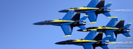 Blue Angels Facebook Cover