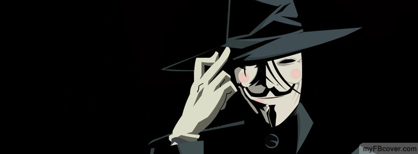 V for Vendetta Facebook Cover | Timeline Cover | FB Cover