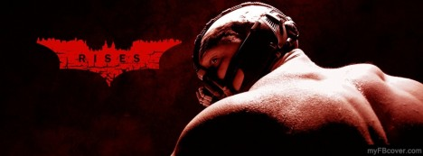 Bane-Dark Knight Rises Facebook Cover