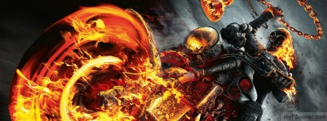 Ghost Rider Facebook Cover