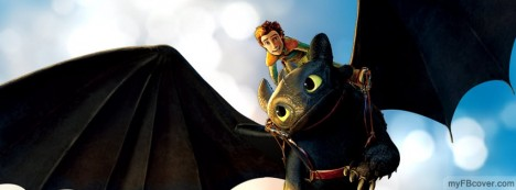 How to train your Dragon Facebook Cover