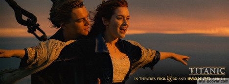 Jack and Rose-Titanic Facebook Cover