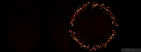 Lord Of Rings Facebook Cover