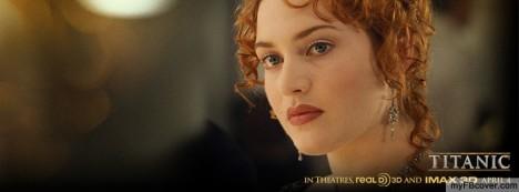 Rose DeWitt Bukater-Titanic Facebook Cover