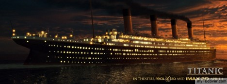 Titanic 3D Facebook Cover