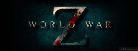World War Z Logo Facebook Cover