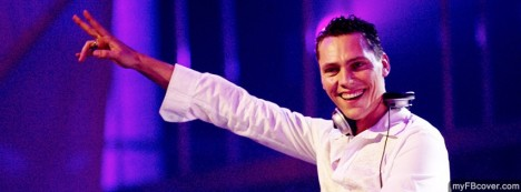 Tiesto Facebook Cover