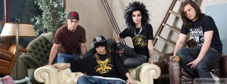 Tokio Hotel Facebook Cover