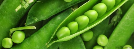 Green Peas Facebook Cover