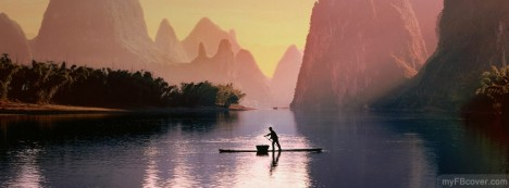 Guilin Fisherman Facebook Cover