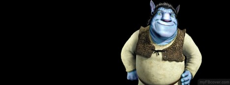 Avatar Shrek Facebook Cover