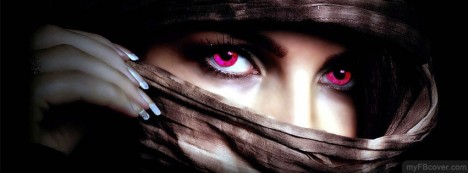 Beautiful Eyes Facebook Cover