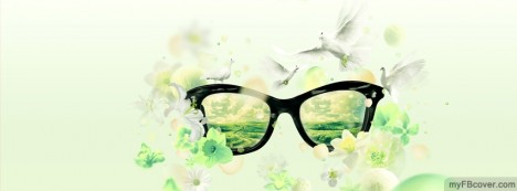 Beautiful Glasses Facebook Cover
