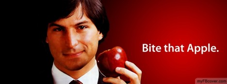 Bite that Apple Facebook Cover