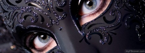 Black Mask Facebook Cover