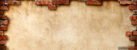 Bricky Wall Facebook Cover