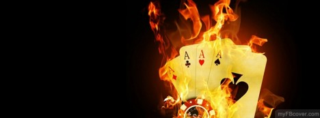 Burning Aces Facebook Cover