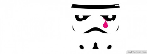 Emo Stormtrooper Facebook Cover