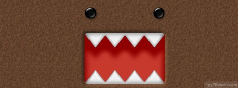 Funny Domo Facebook Cover