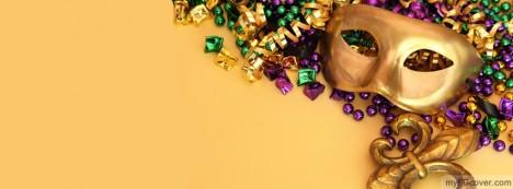 Golden Mask Facebook Cover