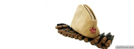 Hat And Bullet Facebook Cover