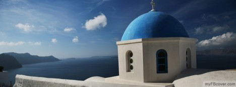 Santorini Churches Facebook Cover