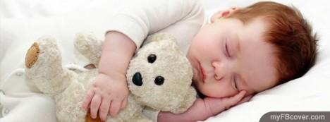 Sleeping Baby Facebook Cover