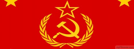 Soviet Union Flag Facebook Cover
