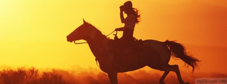 Cowgirl Facebook Cover