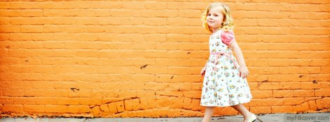 Little Girl Facebook Cover