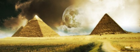 Pyramids Facebook Cover