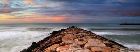 Rock Breakwater Facebook Cover