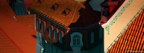 Tallinn Red Roofs Facebook Cover