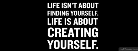 Creating Yourself Facebook Cover