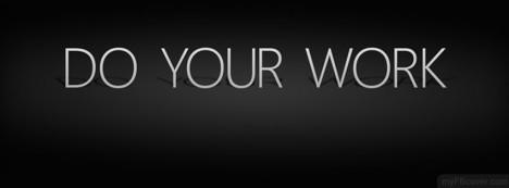 Do your Work Facebook Cover
