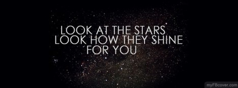 Look at Stars Facebook Cover