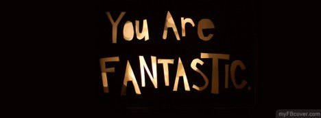 You are Fanastic Facebook Cover