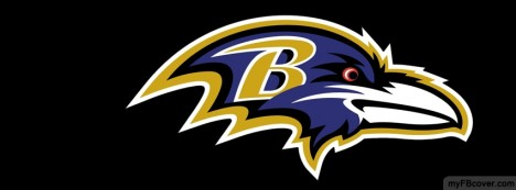 Baltimore Ravens Logos Facebook Cover